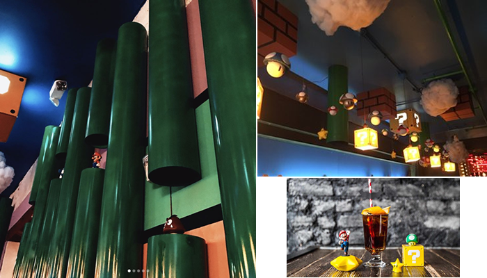Mario Bar Pipes