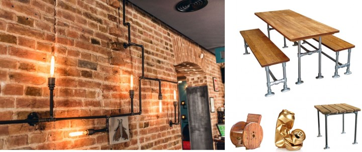 From drab to fab: upcycled and reclaimed pub furniture