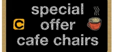 Special Offer Cafe Seating
