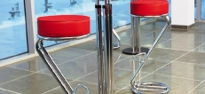 Chrome Bar Stools
