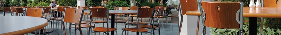 Wooden Cafe and Bistro Chairs