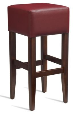 Chester High Stool Wine Leather