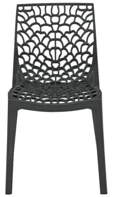 Lattice Chair In Anthracite Front View