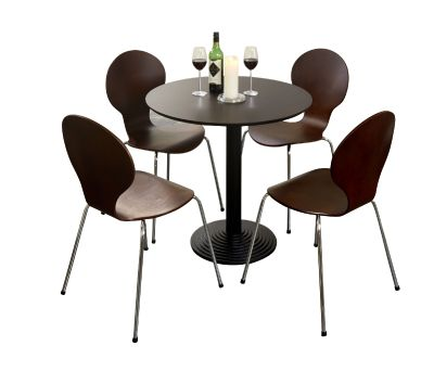 Butterfly Chair Bistro Set 5