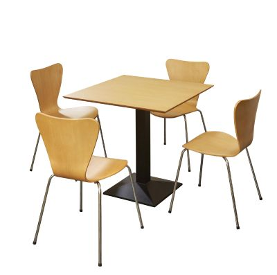 Piazza Chair Bistro Set 5