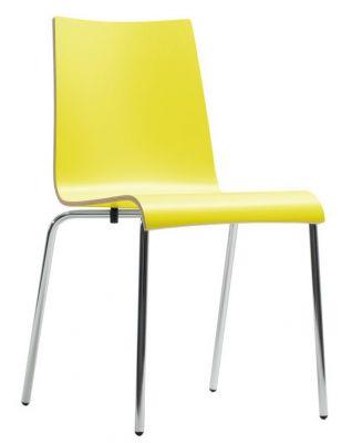 Rio Designer Laminate Chair In Yellow