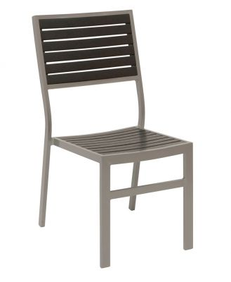 Nova Aluminium side chairs