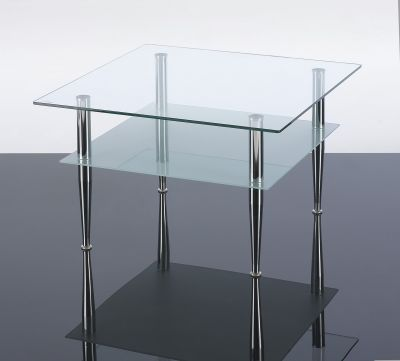 Presto Square Glass Coffee Tables