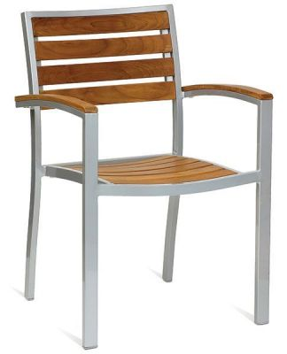 Strong-Aluminium-Outdoor-Chair-with-Slats
