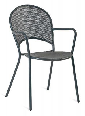 Grey-Steel-Outdoor-Chair-with-curved-back-compressor