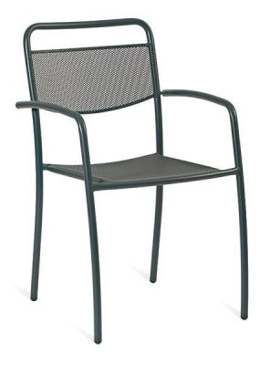 Strong-Steel-Grey-Armchair-with-a-Square-Back-compressor