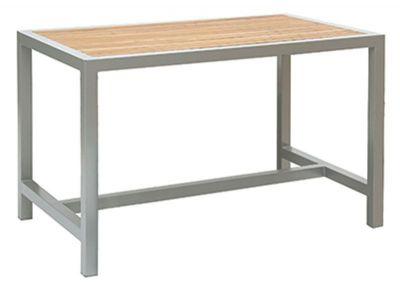 Outdoor-Teak-Slat-Rectangular-Table-Dark-Grey-or-Silver-Frame-compressor