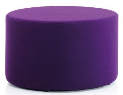 Low Padded Upholstered Stool