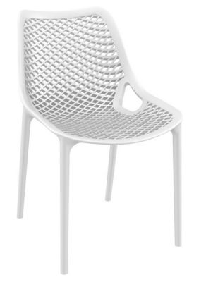 White Outdoor And Indoor Use Designer Polypropylene Chair