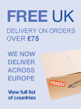 Free UK Delivery on orders over 75