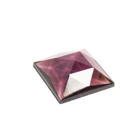 Glass Jewels: Square Purple
