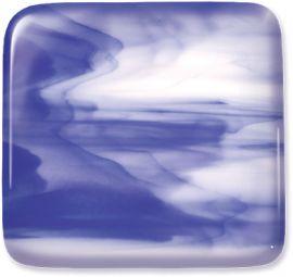 System 96: 3mm Cobalt Blue & White Streaky