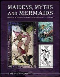 Maidens, Myths and Mermaids: designs for 40 stained glass windows