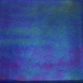 System 96: 2mm THIN Cobalt Blue Rainbow Iridescent Transparent