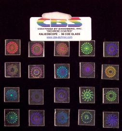 System 96 Dichroic Coated Kaleidoscope Pinwheels - small