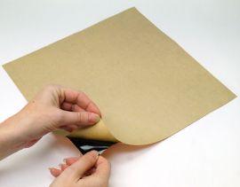 "Black Back Copper Foil Sheet Self Adhesive 12""x12"""