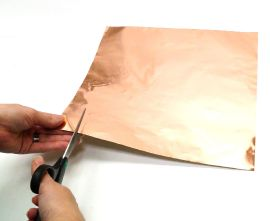 "Copper Foil Sheet - Self Adhesive 12""x12"""