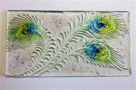 Peacock Texture Mould