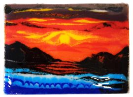 Glass Fusing - Fun with Frit
