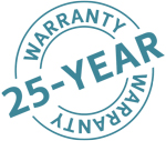 25-year-warranty on Twinson Fencing from Deeplas