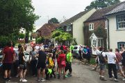 News - Ecolution Darenth Valley Charity Walk - start