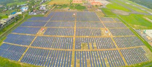 India to have the first solar powered airport