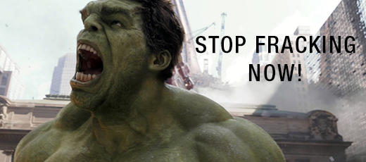 Mark Ruffalo shows his inner green side by opposing against fracking