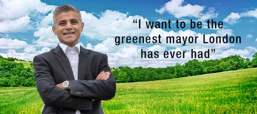 "Labour London mayor candidate wants a ""clean energy revolution"""