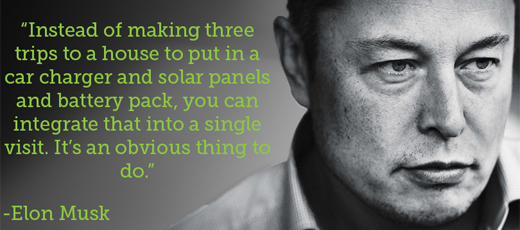 Me, Myself and I - Elon Musk sells his solar power company to his own electric car company