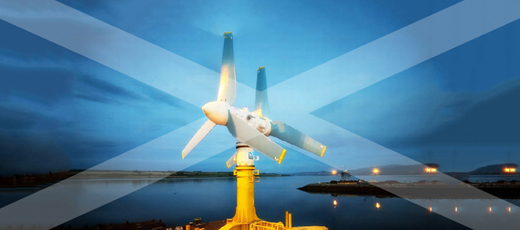 The tide is high for renewable energy in Scotland