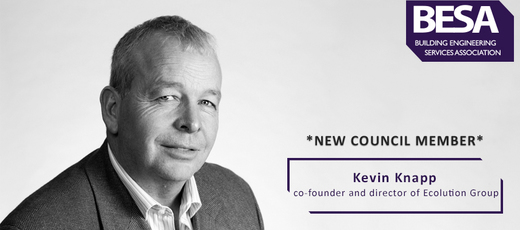 Ecolution co-founder Kevin Knapp becomes member of the BESA council