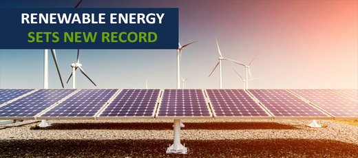 Renewable Energy sets new record by producing a third of UK energy