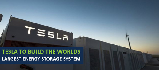 Tesla to Build the World's Biggest Battery in Kent!