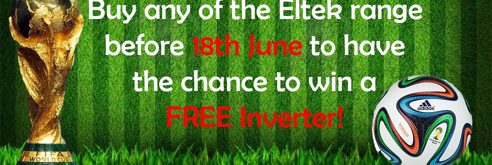World Cup 2014 - Sweepstake - Chance to win a FREE inverter
