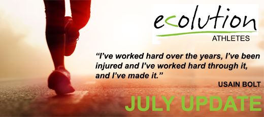 Ecolution Athletes - July Update