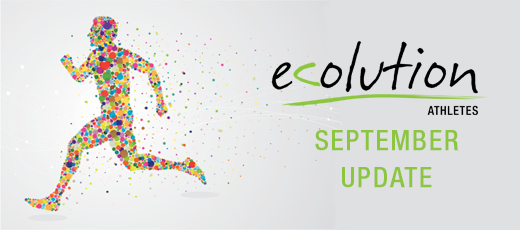 Ecolution Athletes - September Update