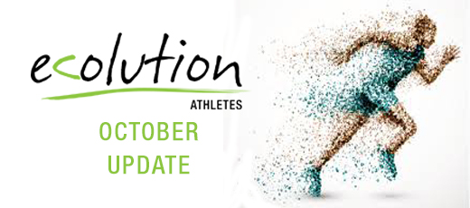 Ecolution Athletes - October Update