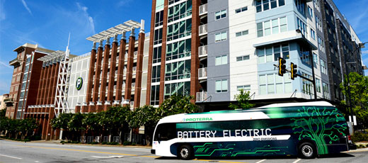 Electric bus to have enough power to last an entire day