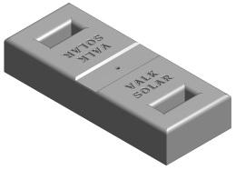Valk Concrete mass block 20kg 750520