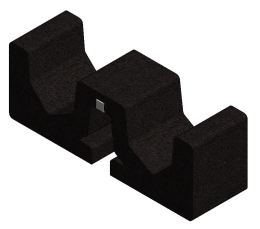 Valk - Rubber Tile Carrier ValkPro+ (250x75x90mm)