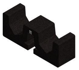 Valk - Rubber Tile Carrier ValkPro+ (250x75x90mm)