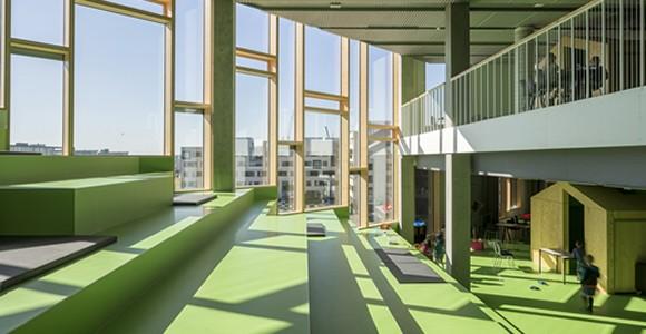Skolen In Sydhavnen green