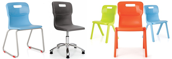 Titan Colourful Stools