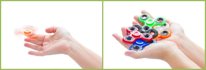 Fidget Spinners banned from school Desks