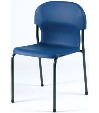 Chair 2000 Classroom Chair In Blue